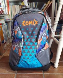 Trolley Comix trasformabile in zaino in due mosse!!! Da 98 a 88 €